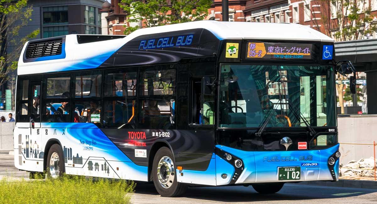 【バス】都バス仕様トヨタの燃料電池バスに乗ってきた