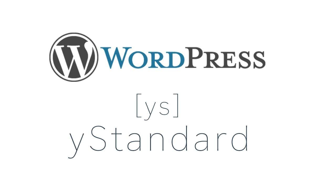 yStandardはWordPressのオススメテーマ。カスタマイズ、スピード重視