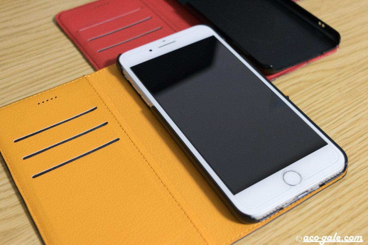 iPhone用の手帳型ケース(レイ・アウト製)を半年ぶりに買い替える
