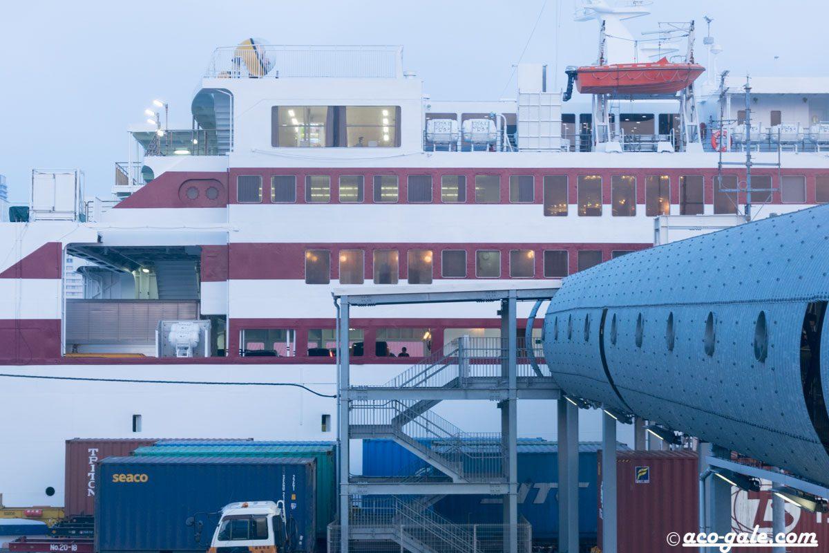 たまには大きな船に乗ってみたい #フェリーとわたし