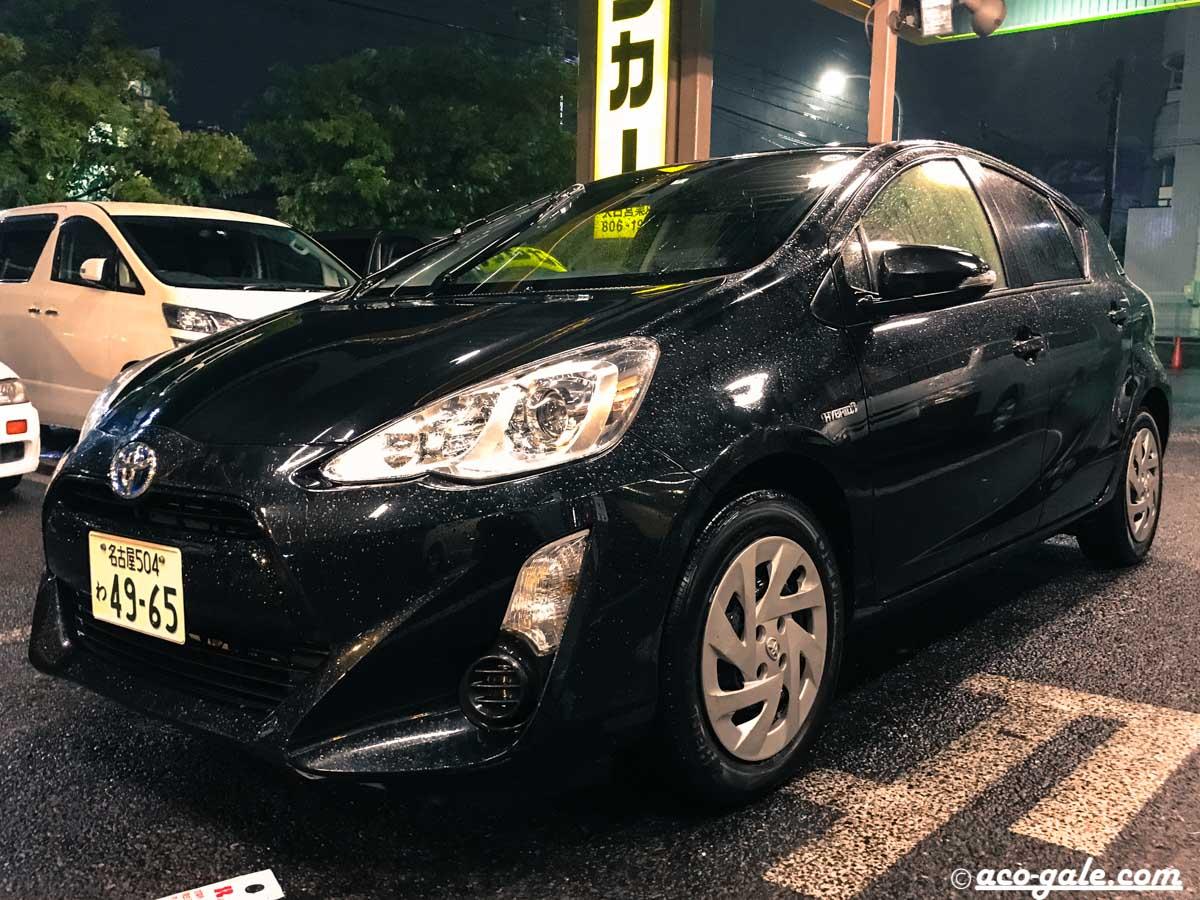ジャパンレンタカーでトヨタアクアを借りて、長野までドライブ