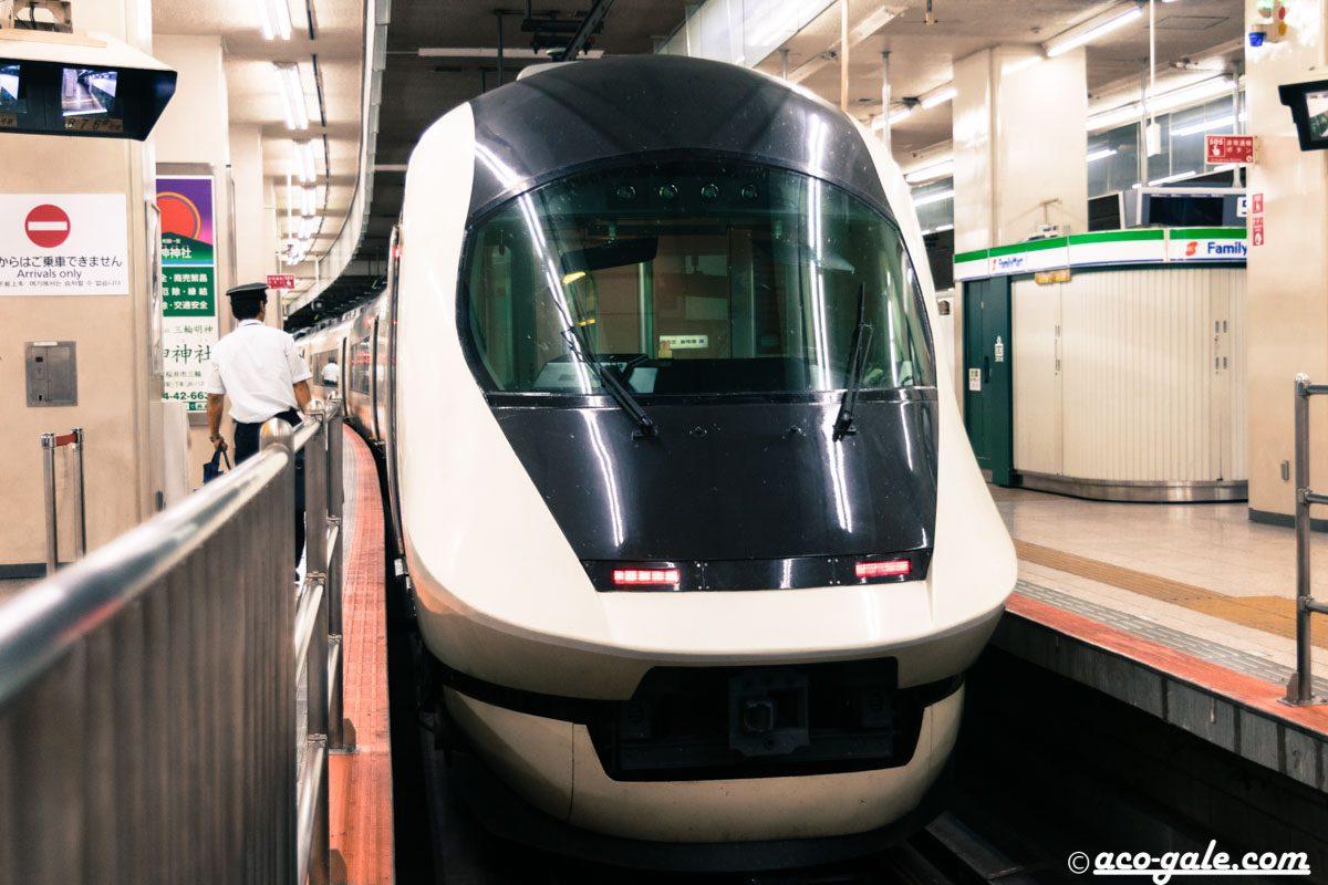 アーバンライナーに乗って大阪難波から近鉄名古屋へ、コンセント付きのデラックスシート!