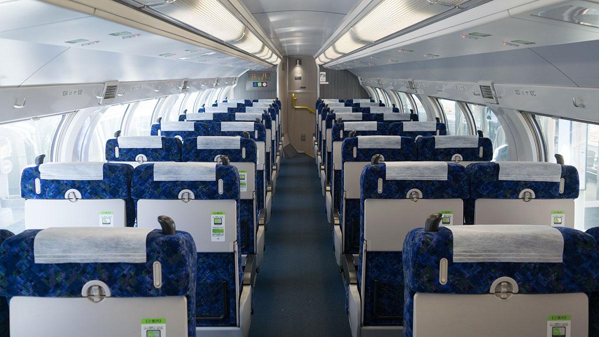 在来線グリーン車の2階席に乗車、事前購入で570円から