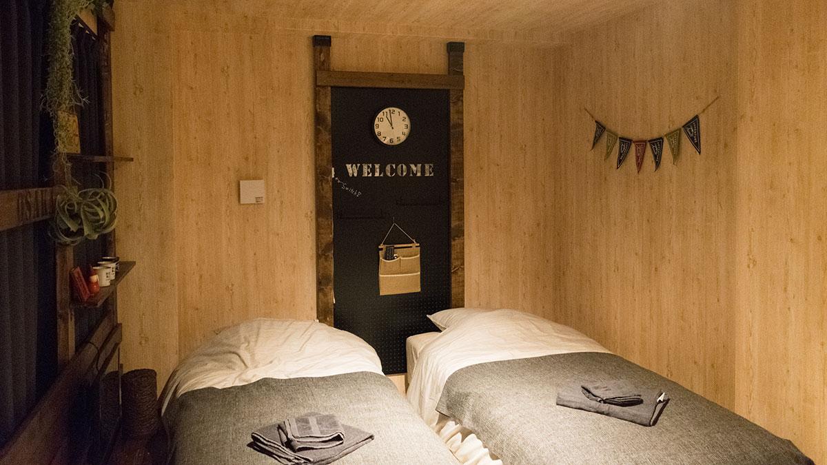 大阪、天下茶屋駅すぐ、Airbnbで民泊に泊まってきた