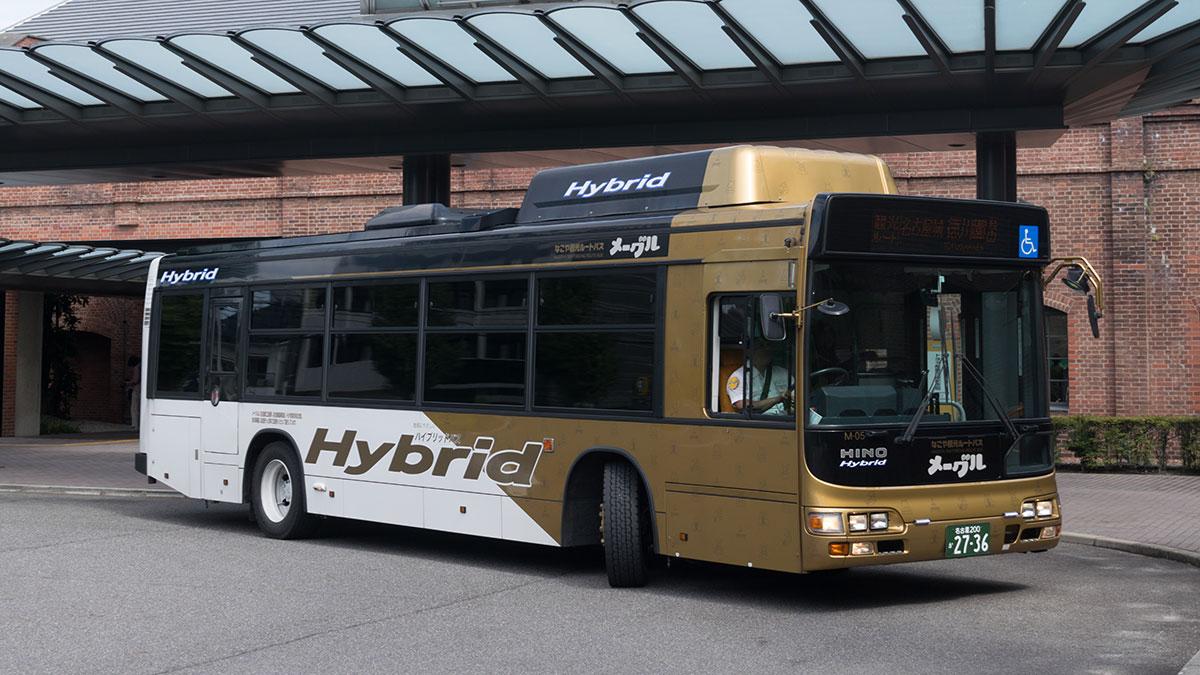 名古屋市の観光ルートバス「メーグル」、500円で名古屋の観光スポットを巡回