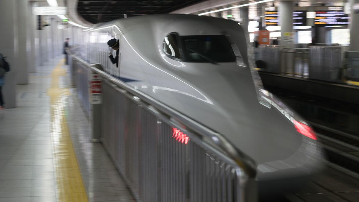 のぞみ2号の10号車10番A席に乗って、名古屋から品川へ