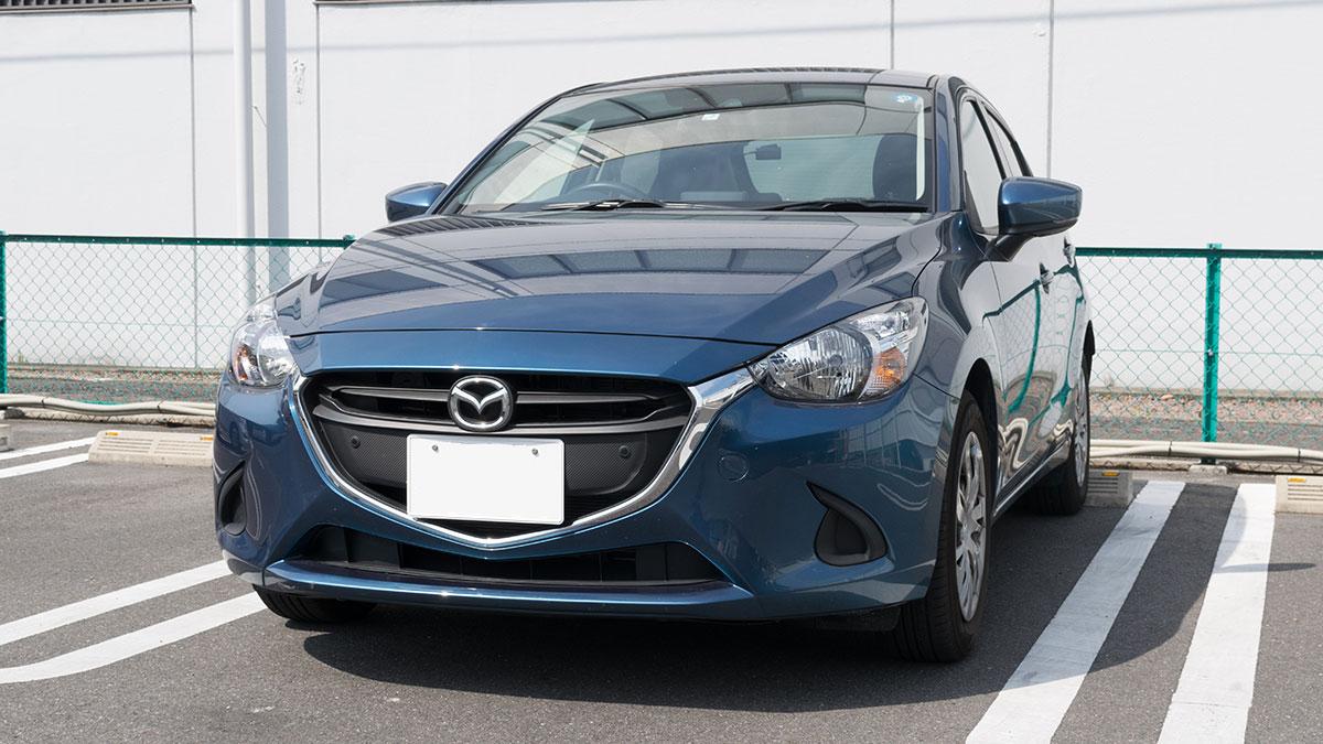 タイムズカーシェアのデミオに乗って、名古屋から岐阜までのドライブ