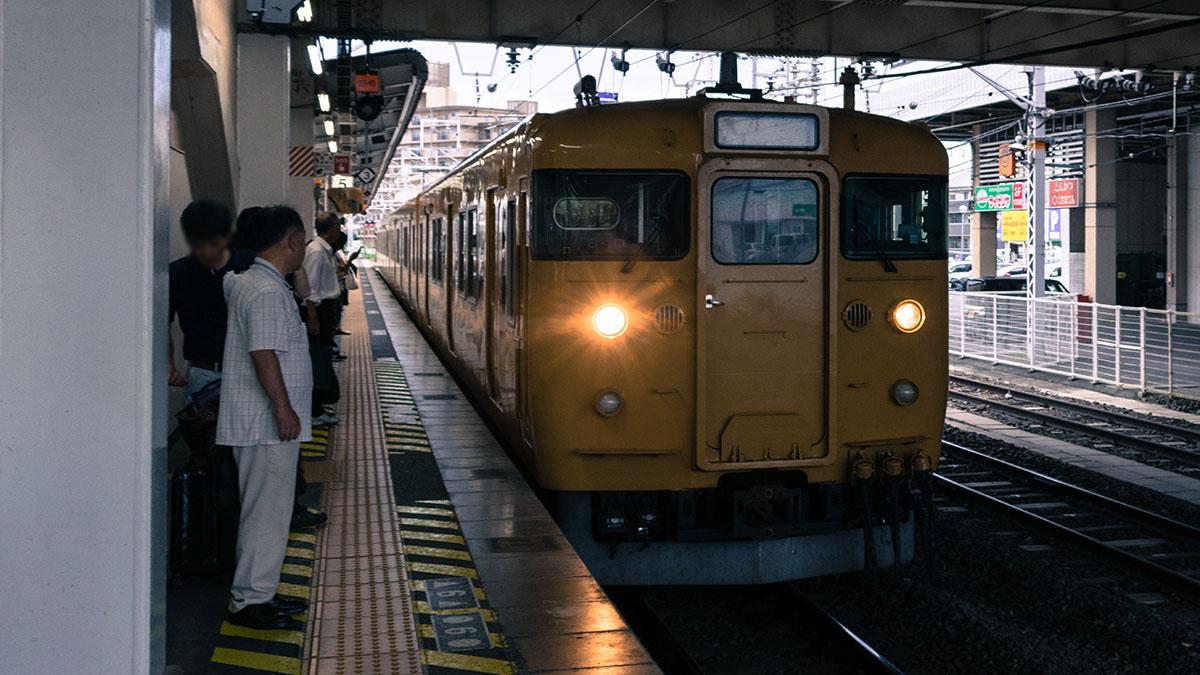 岡山・倉敷から名古屋まで、青春18きっぷを使い5時間33分、2,370円の移動 2019年7月