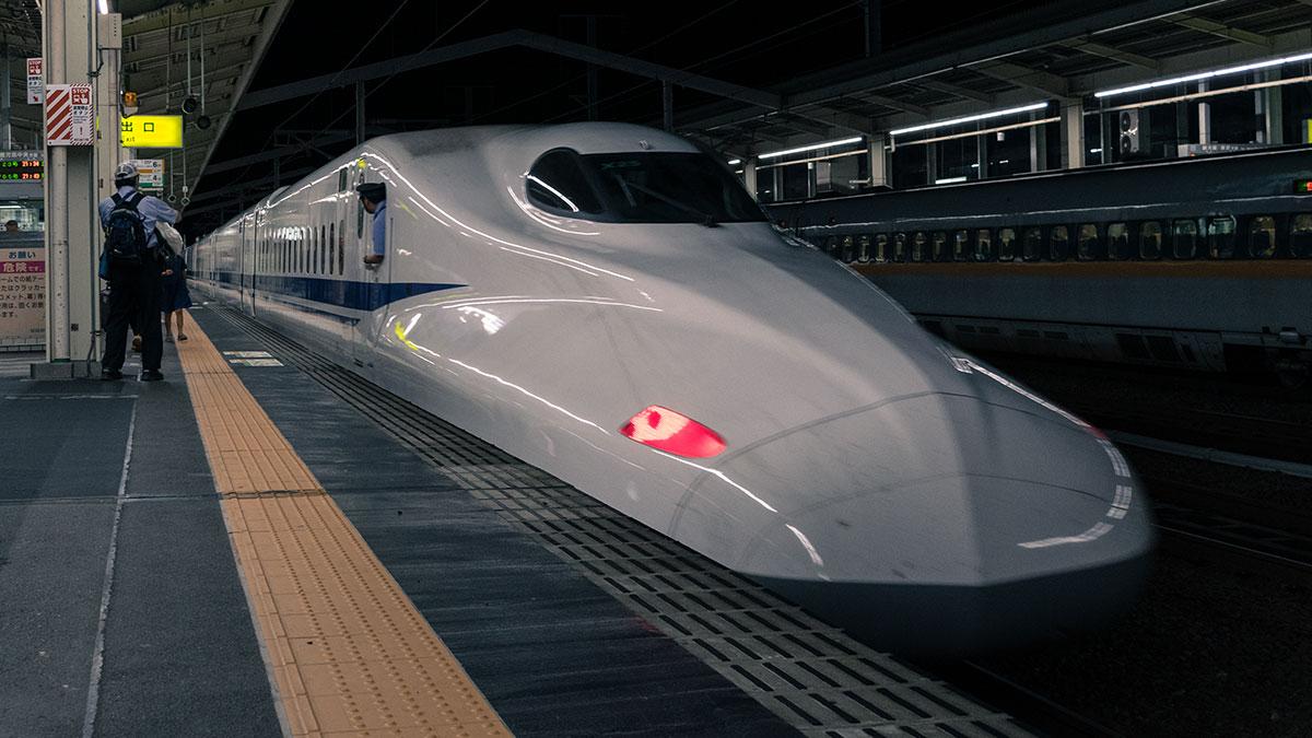 のぞみ405号からのぞみ123号へ、名古屋から新大阪、姫路まで