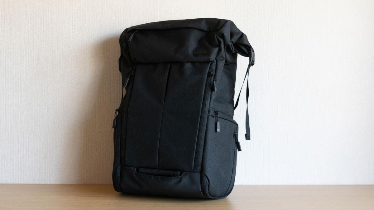 ハクバのバックパックがいい感じ、普段使いにピッタリなサイズとパソコン・カメラの居場所