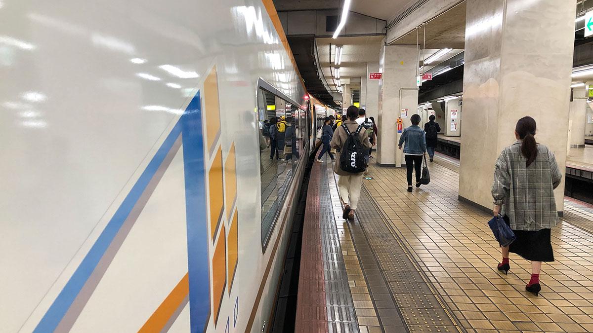 最終の近鉄特急で大阪・鶴橋から近鉄名古屋へ