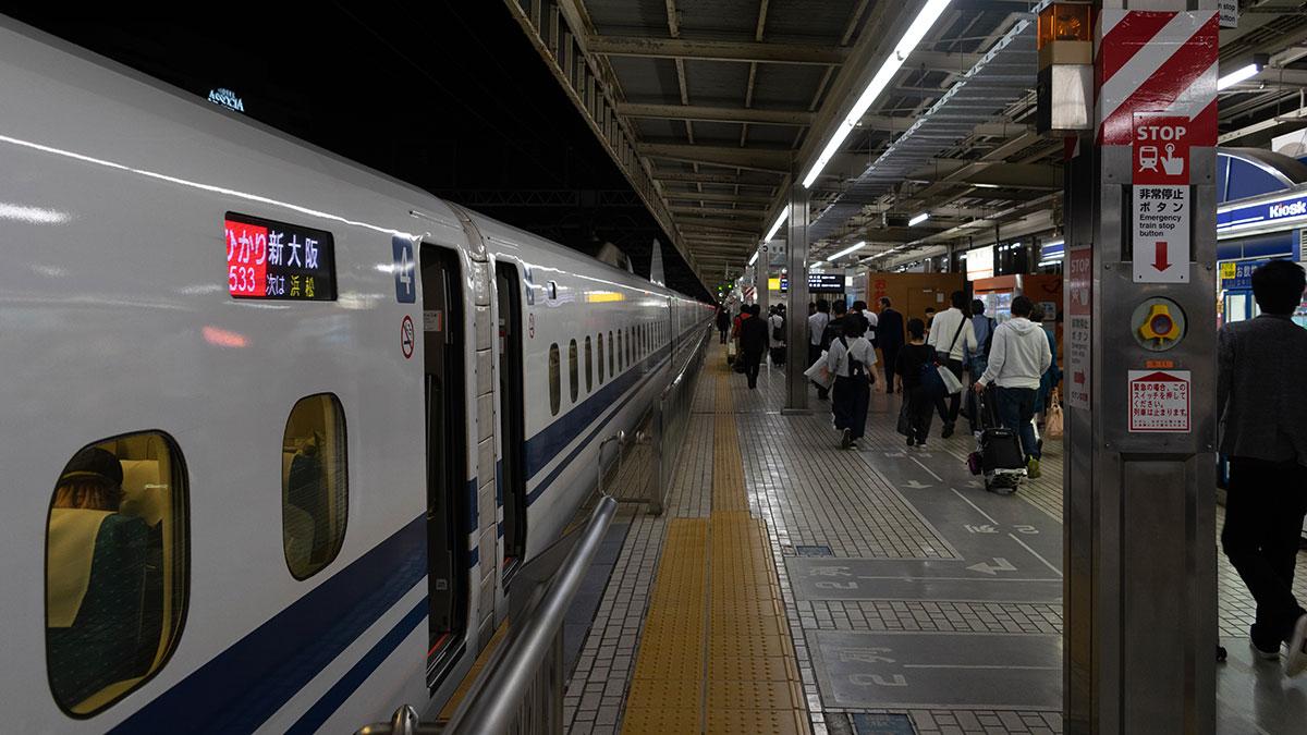 東京から名古屋へ、新幹線→在来線→新幹線の無茶な組み合わせ