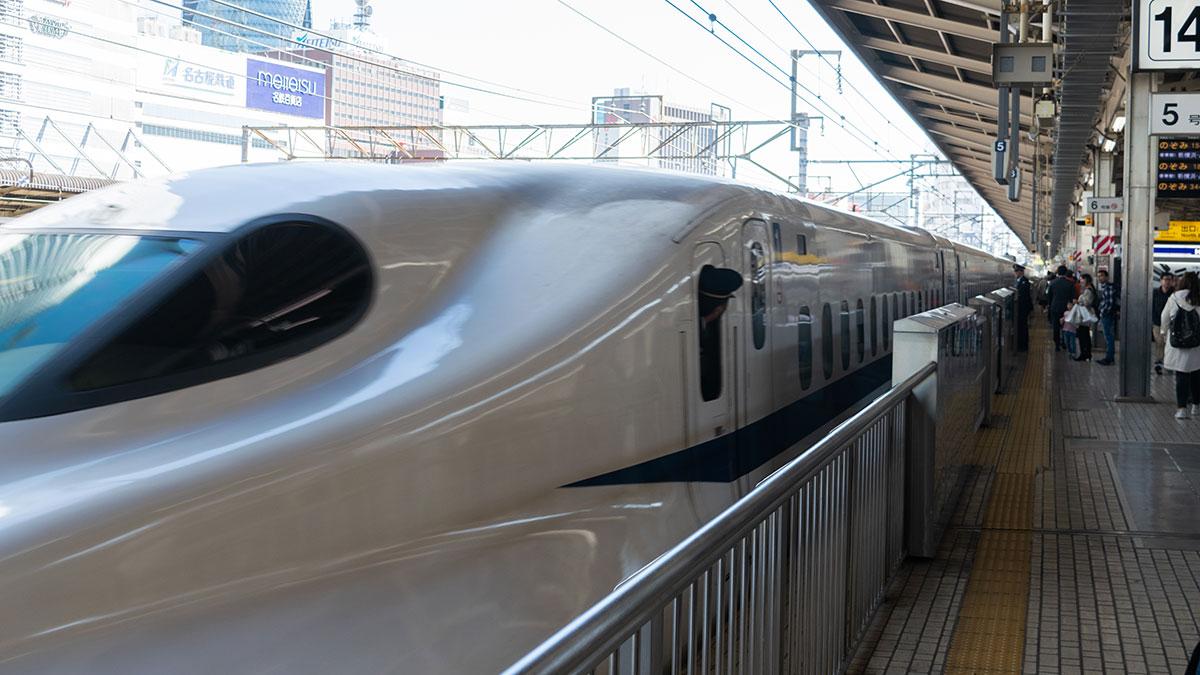 相生から名古屋まで、ひかり466号であっという間の小旅行