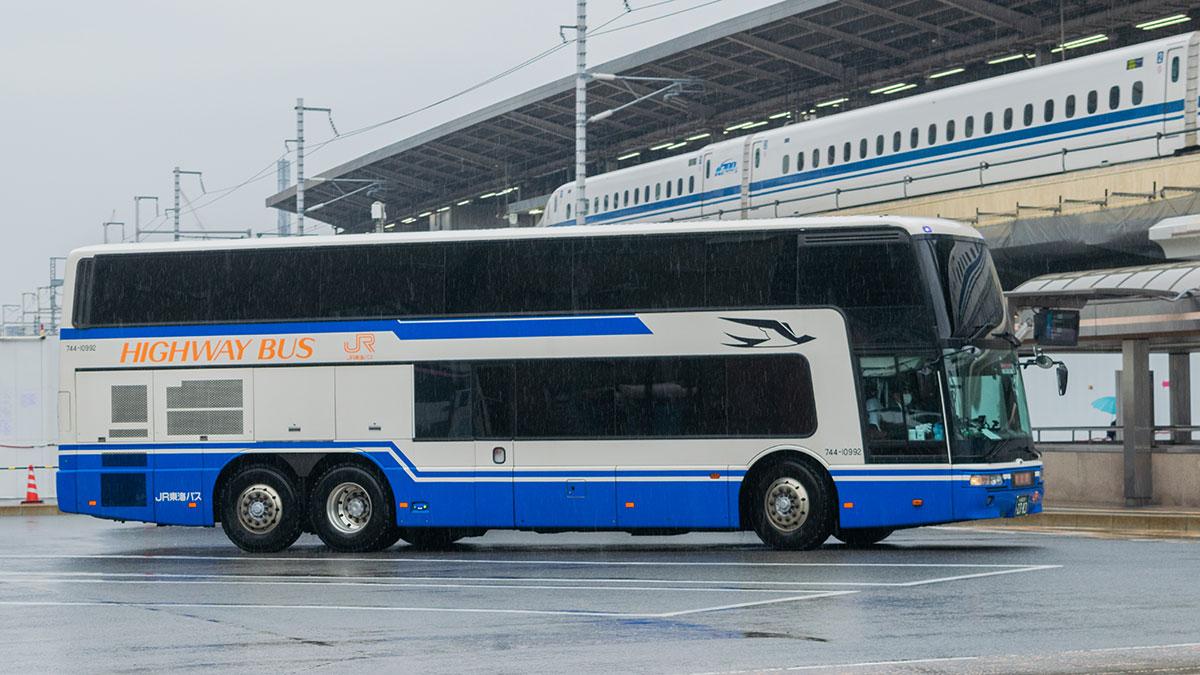 JR東海バス、新東名スーパーライナー12号で名古屋から東京へ