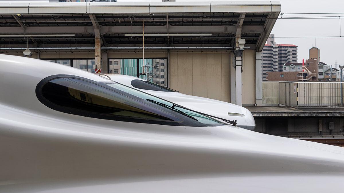 日曜日の午後、こだま724号で名古屋から豊橋へ